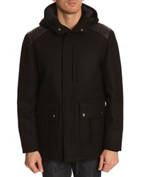 Menlook Label Black Wool Jacket
