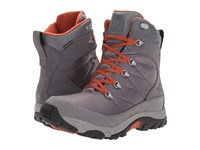 The North Face Chilkat Le Ii Smoked Pearl Grey Bombay Orange Men's Lace Up Boots Smoked Pearl Grey Bombay Orange