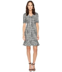 Boutique Moschino Marble Dress Printed Women's Dress Multi