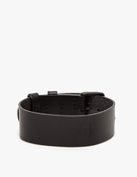 Tid Leather Strap In Black