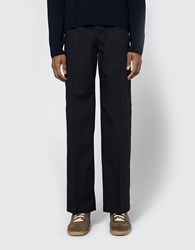 Maison Martin Margiela Replica Military Pant In Dark Blue