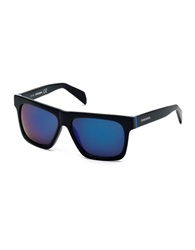 Diesel 58Mm Square Sunglasses Black