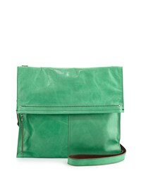 Hobo Lindy Fold Over Shoulder Bag Mint