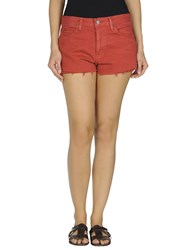 Denim And Supply Ralph Lauren Denim Denim Shorts Women Red