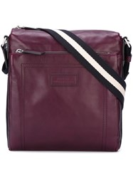 Bally Messenger Bag Pink And Purple