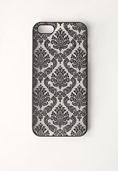 Missguided Floral Flock Print Iphone 5 Case Black