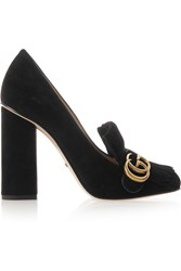 Gucci Fringed Suede Pumps