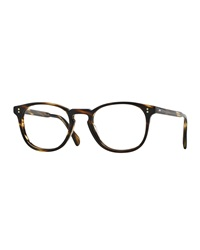 Oliver Peoples Finley Esq. Square Reading Glasses Havana