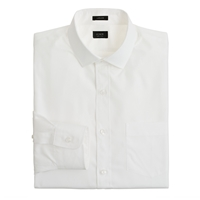 J.Crew Ludlow Spread Collar Shirt In Solid White