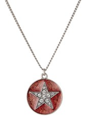 Marc Jacobs Star Necklace Silver
