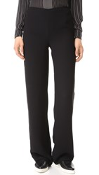 Vince Side Zip Trousers Black