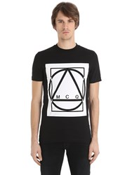 Mcq By Alexander Mcqueen Logo Printed Cotton Jersey T Shirt