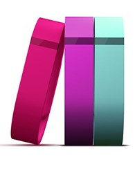 Fitbit Flex Tracker Vibrant Accessory Pack Pink Violet Turquoise