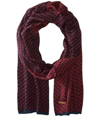 Ted Baker Miscarf Navy Scarves