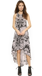 Free People La Mar Printed Dress Tea Combo
