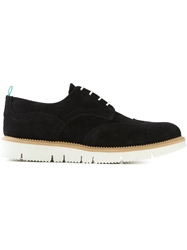 Pulchrum 'Andrea Low Gloxy Cut' Brogue Shoes Black