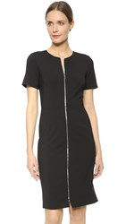 Prabal Gurung Short Sleeve Dress Black