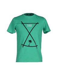 Guess By Marciano Topwear T Shirts Men Green