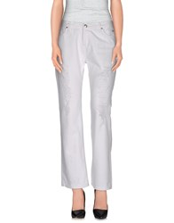 Roy Rogers Roy Roger's Choice Denim Denim Trousers Women White