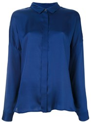 Odeeh Loose Fit Shirt Blue