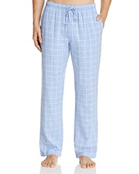 Naked Double Cloth Gauze Check Lounge Pants Lavender Lust