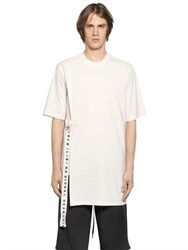 D By D Paper Effect Poplin And Jersey T Shirt