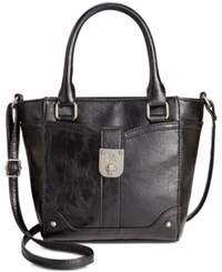 Styleandco. Style And Co. Twistlock Mini Satchel Only At Macy's Black