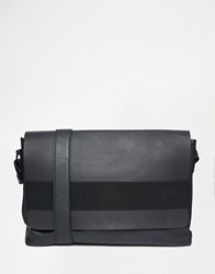 Asos Satchel With Elastic Strap Black