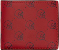 Gucci Red Ghost Wallet