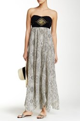Rip Curl Moon River Maxi Dress Gray