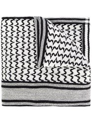 Undercover Woven Scarf Black