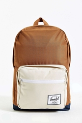Herschel Supply Co. Pop Quiz Colorblock Backpack Light Brown
