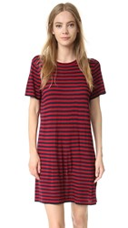 Jenni Kayne T Shirt Dress Red Navy