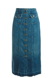 Current Elliott Sawy Denim Skirt