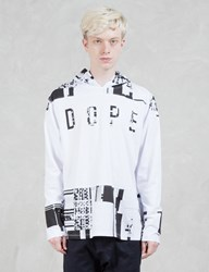 Dope Glitch Hooded L S T Shirt