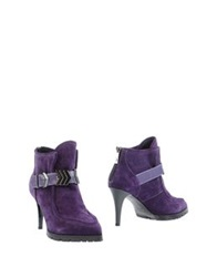 Pinko Ankle Boots Mauve