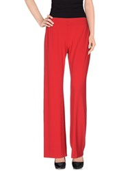 Antonio Fusco Trousers Casual Trousers Women Red