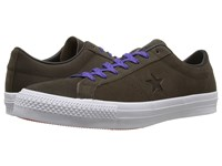 Converse One Star Pro Leather Hot Cocoa Black White Shoes Brown
