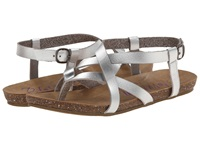 Blowfish Granola Silver Dyecut Pu Women's Sandals