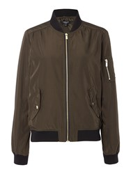 Therapy Bomber Jacket Dark Khaki