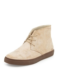 French Connection Falcon Leather Chukka Boot Sand