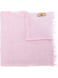 Fay Fringe Scarf Pink And Purple