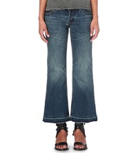 Free People Chelsea Flared High Rise Jeans Jacob