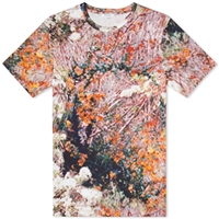 Carven Exploded Flower Print Tee Multi