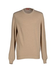 Altea Knitwear Jumpers Men Beige
