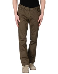 Gant Casual Pants Military Green