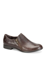 Born Galenka Leather Oxfords Brown