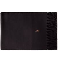 Polo Ralph Lauren Signature Italian Wool Scarf Black
