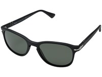 Persol 0Po3086s Matte Black Polar Green Fashion Sunglasses