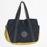 Stighlorgan Trefor Tool Bag Tote Midnight Blue And Yellow
